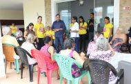 Educador Solidário: Sinproesemma doa donativos à Casa Happy