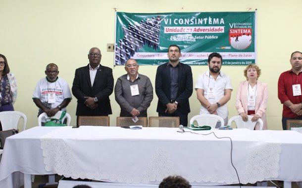 Unidade: Sinproesemma participa do IV Consintema