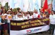 Sinproesemma diz não a Reforma da Previdência em ato no Maranhão