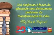 15 de outubro: Dia do Professor